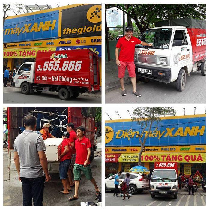 Taxi tải bình dân Hoa Vinh